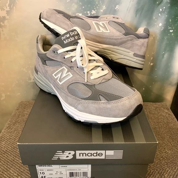 Balance 993 Made In Usa Gray Classic